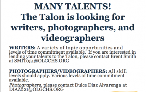 Interested in contributing to The Talon?