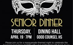 Senior Dinner April 17th!