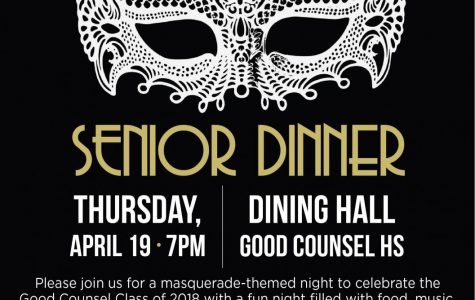 Senior Dinner April 17th!