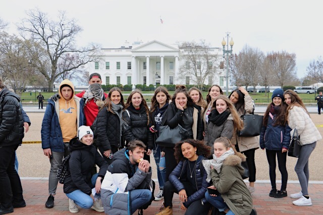 GC%E2%80%99s+visiting+french+exchange+students+spend+Monday+February+26th+visiting+the+White+House.+