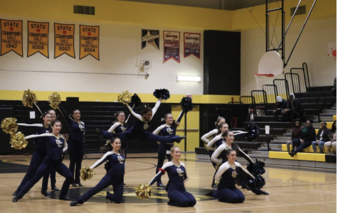 GC Poms Honor Parkland Victim in Recent Competition