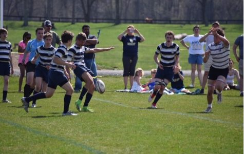 Rugby Team Running to Greatness