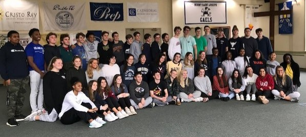 "The Week in Pictures 02/2-8: Senior ""Fast and February"" Retreat 2/2-3/2020"